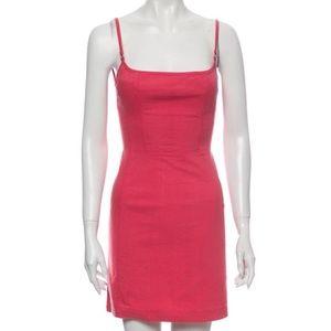 Philosophy di Alberta Ferretti Pink Mini Dress